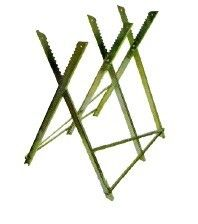 LOG SAW HORSE Sawhorse Chainsaw Metal Stand