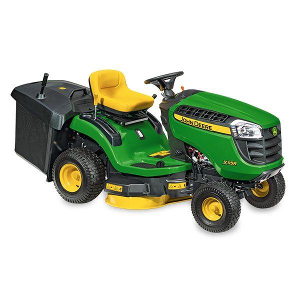 "John Deere X115R Lawn Tractor c/w Collector 36"""