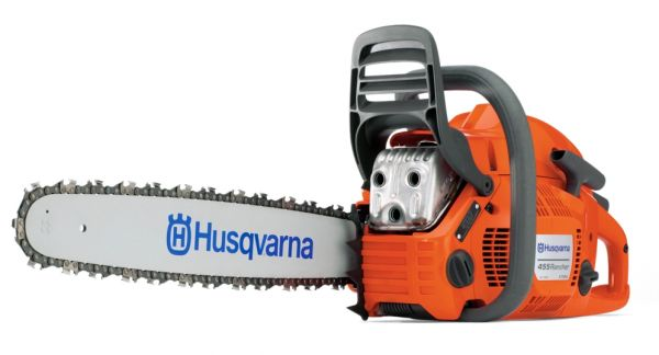 "Husqvarna 455 Rancher chainsaw (55.5cc) (15"" bar and chain)"