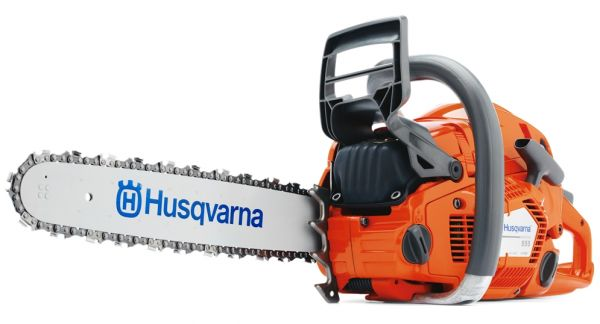 "Husqvarna 555 chainsaw (59.8cc) (18"" bar and chain)"