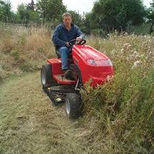"""Countax A25-50HE with 42"""" High Grass Mulch Deck"""