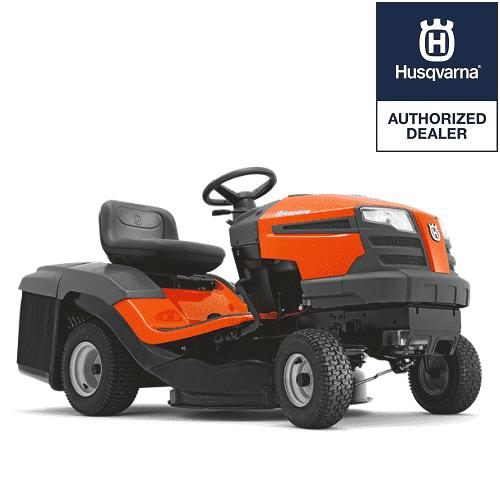HUSQVARNA TC130 Petrol Ride On Tractor Lawn Mower 77CM