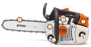 Stihl MS201T Top Handle Chainsaw
