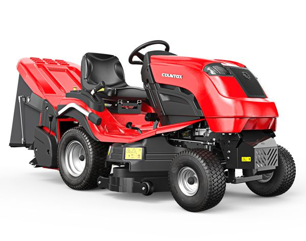 """Countax C40 tractor including 38"""" XRD cutter deck and powered grass collector"""