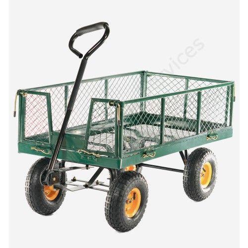 Cobra GCT300 300kg Hand Cart with Drop Down Sides