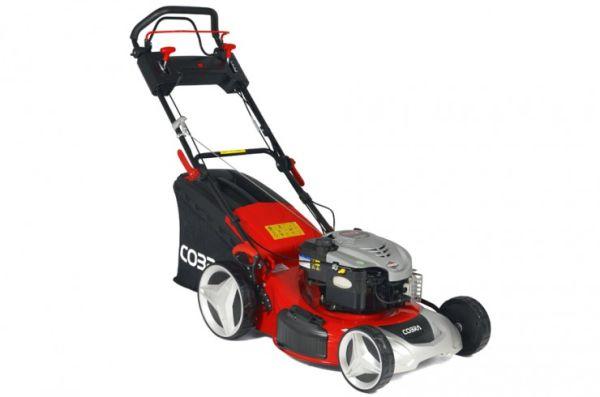 Cobra MX514SPB Premium 4-in-1 Variable Speed Petrol Lawn Mower