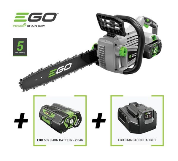 "Ego CS1401E Power+ 56V 14"" Cordless Chainsaw Kit"