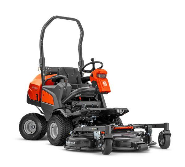 Husqvarna P520D Diesel Commercial Sit On Lawn Mower 132-155cm