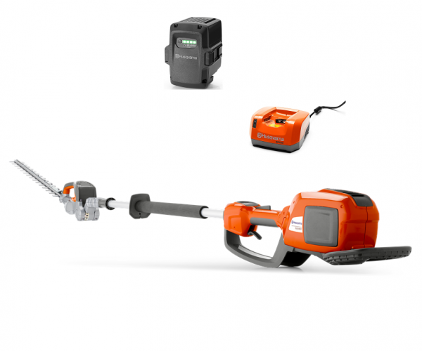 """Husqvarna 520iHE3 battery pole hedge cutter (22"""" cut) (Kit (with battery & charger))"""