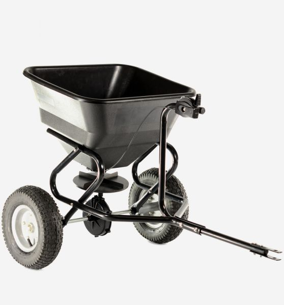 Cobra TS45 80lb Tow spreader with poly hopper